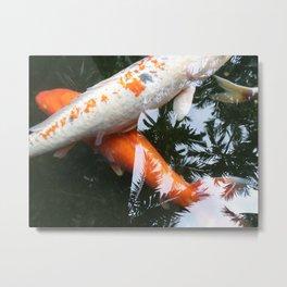 KOI -X Metal Print