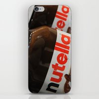 nutella iPhone & iPod Skins featuring Nutella by Max Jones