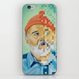 Tribute to Zissou iPhone Skin