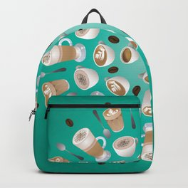 Coffee Kaleidoscope Backpack