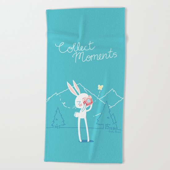 Collect Moments Beach Towel
