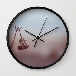 winter seclusion Wall Clock