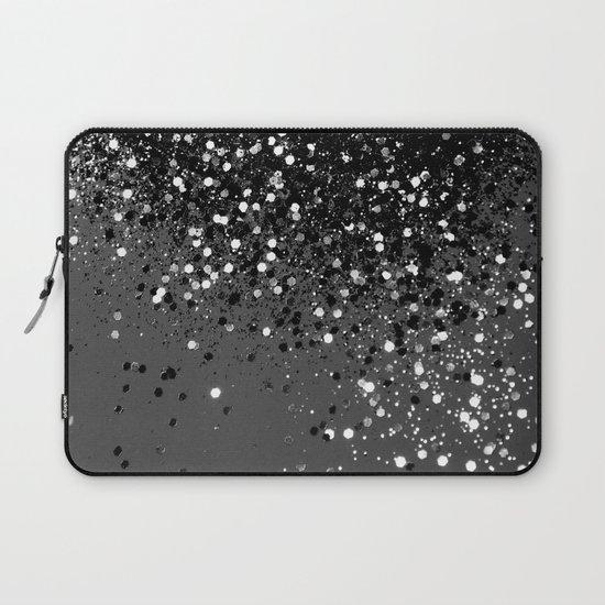 Dark Gray Black Lady Glitter #1 #shiny #decor #art #society6 by anitabellajantz