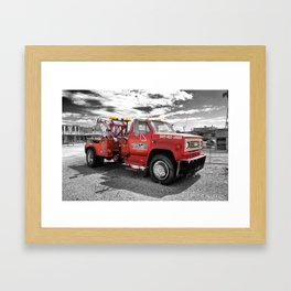On the Route 66 | Seligman | Arizona (Usa) Framed Art Print