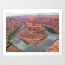 Horse Shoe Bend Art Print