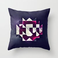 rwby Throw Pillows featuring rwby pyndynt by Spires