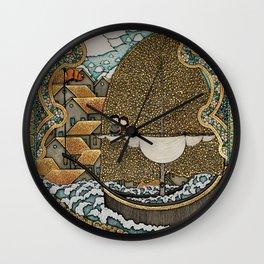 Taking on Water Wall Clock