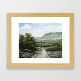 Texas Hill Country Framed Art Print