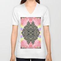 monika strigel V-neck T-shirts featuring Monika by Ancient Origin