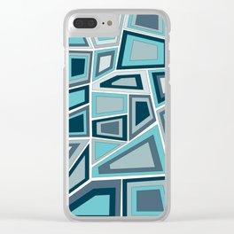Midcentury Tango Clear iPhone Case