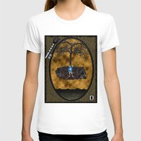 book cover T-shirts featuring Book Cover Illustration by Conceptualized