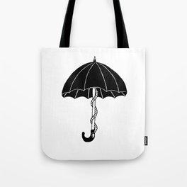 Secret parasol Tote Bag