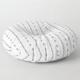 FRENCH LINEN STRIPE Floor Pillow