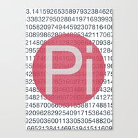 pi Canvas Prints featuring Pi by sonsofwolves
