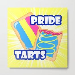 Pan Pride Tarts Metal Print