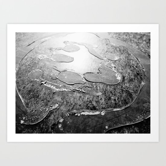Urban Abstract 91 Art Print