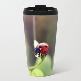 Ladybird, ladybird, fly away home.. Travel Mug