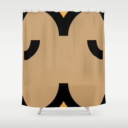 face 5 Shower Curtain