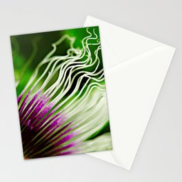 Passion flower filaments Stationery Cards