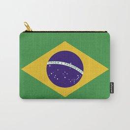 Brazil flag emblem Carry-All Pouch
