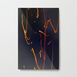 fire paint Metal Print