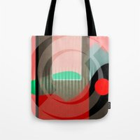 courage Tote Bags featuring Courage by Kristine Rae Hanning