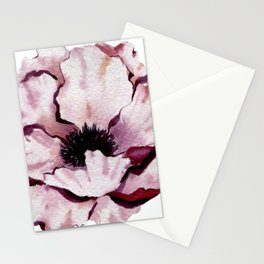 Pink Winter Peony Stationery Cards