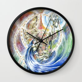 Maelstrom of Magic Wall Clock