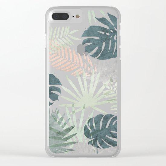 Tropicalia Clear iPhone Case