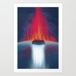 Never tell me the odds. Art Print