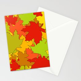 Autumn Leaves / Fall / Höst  Stationery Cards