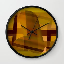 Inside the outside Wall Clock