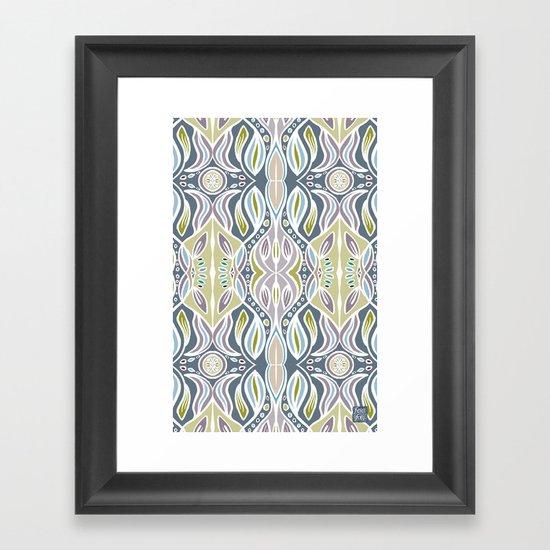 Ocean Migration Framed Art Print