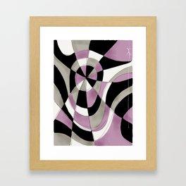 Purple Haze V Framed Art Print