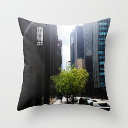Dallas Lonely Man Throw Pillow