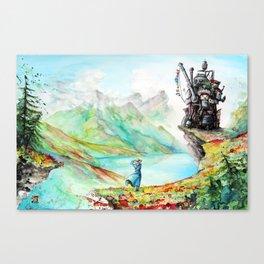 """""""Into my dreams"""" Canvas Print"""