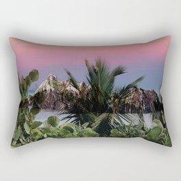 Tropical d'hiver Rectangular Pillow