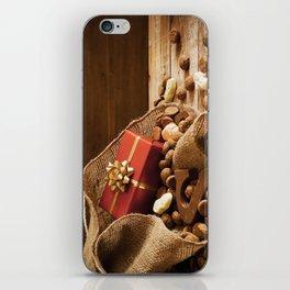 II - Bag with treats, for traditional Dutch holiday 'Sinterklaas' iPhone Skin