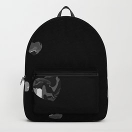 Chaotic Hearts Silver Dapple Backpack