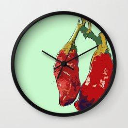 Chillis (b) Wall Clock