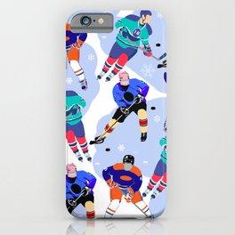 Ice Hockey print 001 iPhone Case