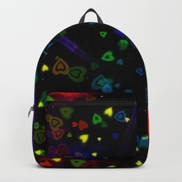 Night, Star and Hearts Backpack
