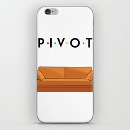 Pivot Friends iPhone Skin