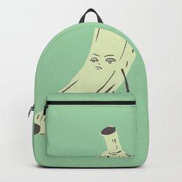 annoyed banana Backpack