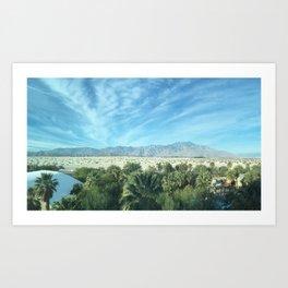 Palm Desert Mountains California Art Print