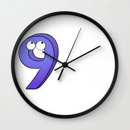 Nine! Wall Clock