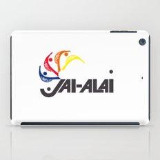 Jai-Alai Logo Color iPad Case