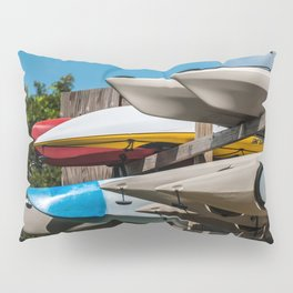 Beach Kayaks Pillow Sham