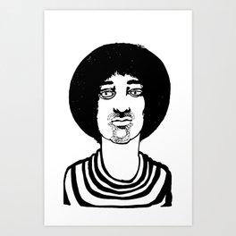 dizzy dude Art Print