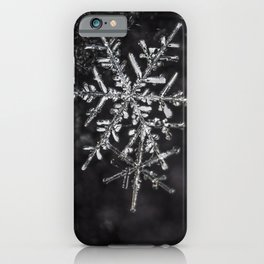 Two Snowflakes iPhone Case